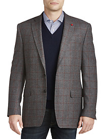 TailoRED Windowpane Wool/Cashmere Sport Coat