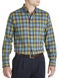Cutter & Buck® Timber Plaid Twill Sport Shirt