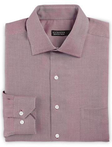 Rochester Non-Iron Mini Herringbone Dress Shirt - $89.50