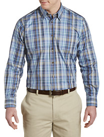 Robert Talbott Plaid Sport Shirt