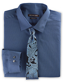 Michael Kors® Honeycomb Print Dress Shirt