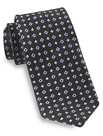 Robert Talbott Best of Class Dual Diamond Medallion Silk Tie