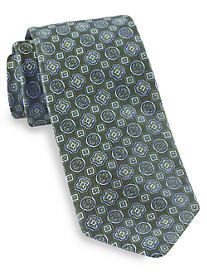 Robert Talbott Best of Class Multi-Shape Medallion Silk Tie