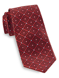 Robert Talbott Best of Class Diamond Dot Medallion Silk Tie