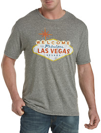 Retro Brand Welcome to Las Vegas Graphic Tee