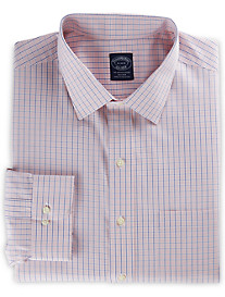Brooks Brothers® Non-Iron Micro Check Tattersall Dress Shirt