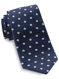 Rochester Spaced Dot Silk Tie