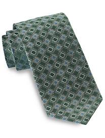 Rochester Geo Box Medallion Silk Tie