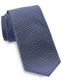 Rochester Small Dot in Circle Silk Tie