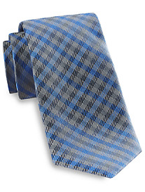 Rochester Iridescent Plaid Silk Tie