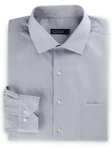 Rochester Non-Iron Dobby Solid Dress Shirt - $89.5