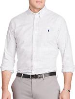 Polo Ralph Lauren® Windowpane Check Poplin Sport Shirt