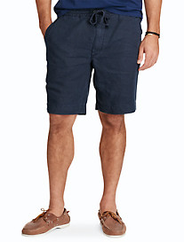 Polo Ralph Lauren® Linen Twill Transit Flat-Front Shorts