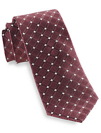 Michael Kors® Enviable Grid Silk Tie