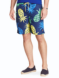 Polo Ralph Lauren® Captiva Pineapple-Print Swim Trunks