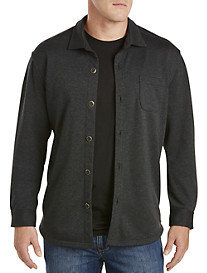 Tommy Bahama® Barra Grande Fleece-Lined Jersey Shirt