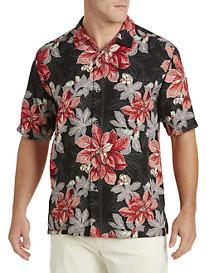 Tommy Bahama® Festive Flora Silk Camp Shirt