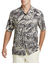 Tommy Bahama® Brazilia Batik Silk Camp Shirt