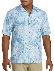 Tommy Bahama® Botanico Jungle Silk Camp Shirt