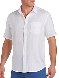 Tommy Bahama® Sea Glass Linen Camp Shirt