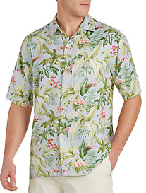 Tommy Bahama® Bloom Town Silk Camp Shirt