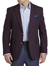 Tallia Orange Check Sport Coat