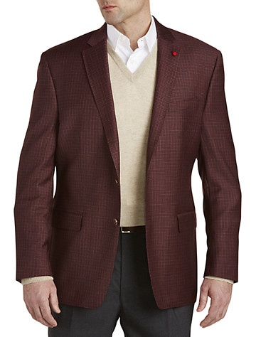TailoRED Check Wool Sport Coat - $695.00