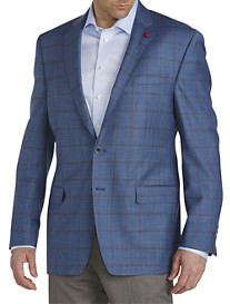 TailoRED Windowpane Wool Sport Coat