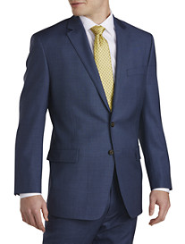 Ralph by Ralph Lauren Sharkskin Wool Suit Coat