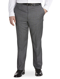 Ralph by Ralph Lauren Comfort Flex Windowpane Suit Pants