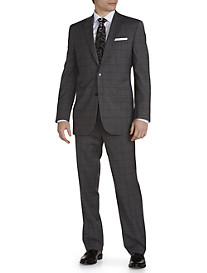 Jack Victor Windowpane Wool Nested Suit
