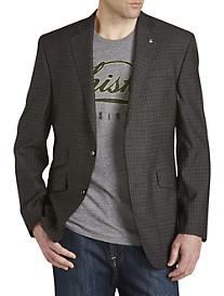 Ted Baker Tonal Check Wool Sport Coat