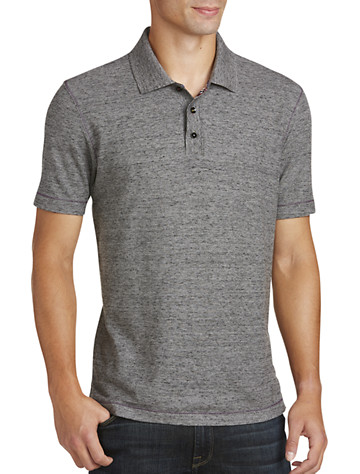 Heather Black Polos - 5 products