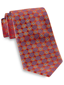 Robert Talbott Best of Class Medium Circle Medallion Silk Tie