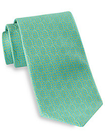 Robert Talbott Best of Class Small Grid Neat Silk Tie