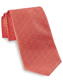 Robert Talbott Best of Class Small Grid Neat Silk Tie
