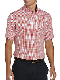 Brooks Brothers® Non-Iron Gingham Pinpoint Sport Shirt