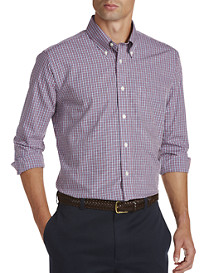 Brooks Brothers® Non-Iron Mini Check Broadcloth Sport Shirt