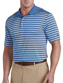 adidas® Golf Club Merch Stripe Polo