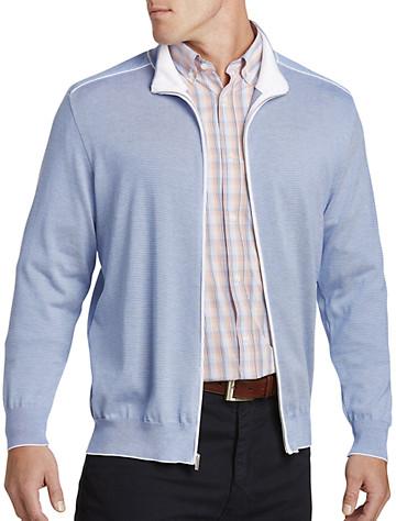 Paul & Shark® Lightweight Full-Zip Sweater Jacket   Sweaters & Vests
