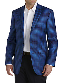 Jack Victor® Gingham Wool Sport Coat – Executive Cut