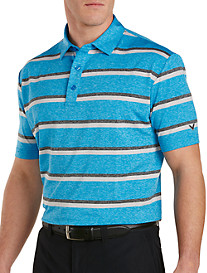 Callaway® Printed Heather Stripe Polo
