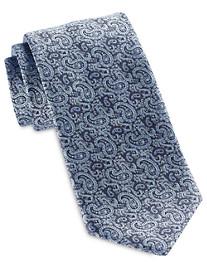Brioni Small Tight Paisley Silk Tie