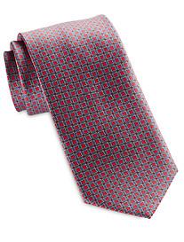 Brioni Circular Diamond Geo Silk Tie