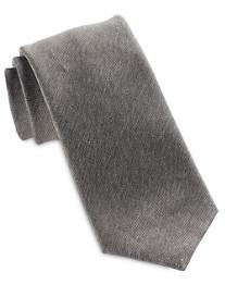 Brioni Tonal Solid Silk Tie