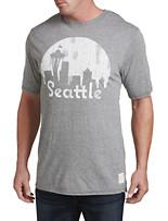 Retro Brand Seattle Skyline Graphic Tee