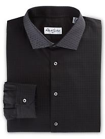 Robert Graham® Welby Tonal Jacquard Houndstooth Dress Shirt