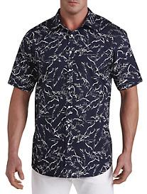 Michael Kors® Palm Print Sport Shirt