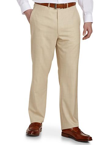 Ballin® 6 East Super 130's Opulent Tropical Wool Trousers (tan)