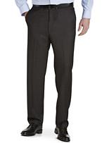 Ballin® Comfort-EZE Textured Grid Flat-Front Dress Pants